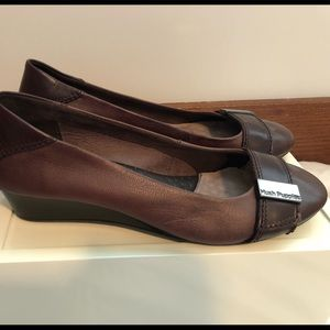 Hush Puppies Brown Wedges 9N